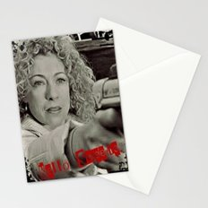 River Song; Hello Sweetie. Stationery Cards