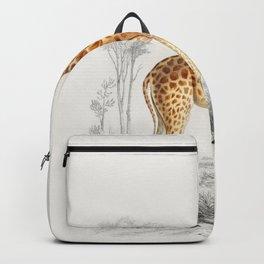 Giraffe (Giraffa camelopardalis) Backpack