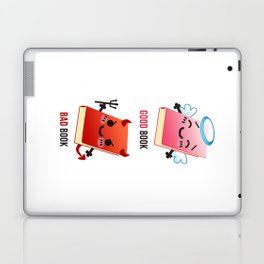 Good Book Bad Book Laptop & iPad Skin