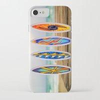 surfboard iPhone & iPod Cases featuring Surfboard by Leonardo Vega