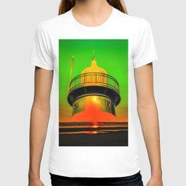 Lighthouse romance 100 T-shirt