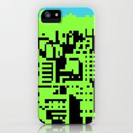 cityscape 07A (C64 remix) (2011) iPhone Case