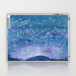 The Blue Laptop & iPad Skin
