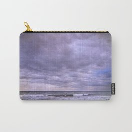 Rain storm at the sea Carry-All Pouch