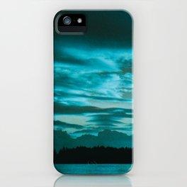 Azure Morning iPhone Case