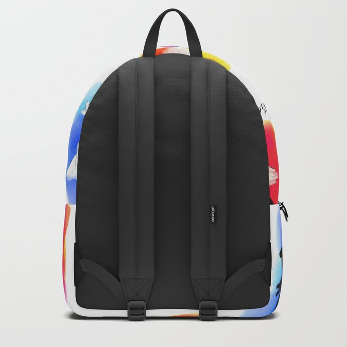 Watercolor Shadow Puppets Backpack
