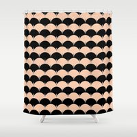 undulation Shower Curtain