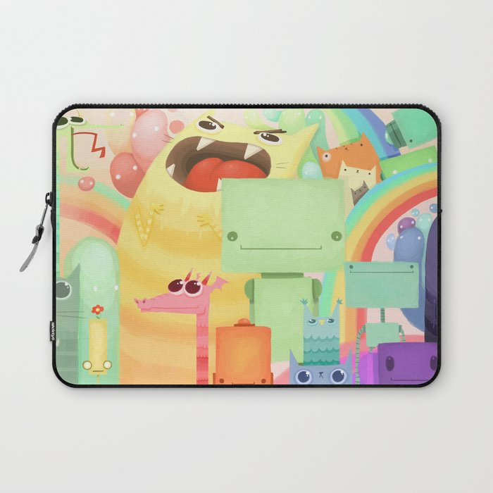 Who the What Laptop Sleeve