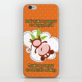 Monkey iPhone Skin