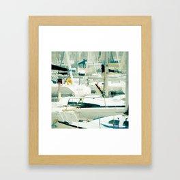 Harbour in the Bretagne II Framed Art Print