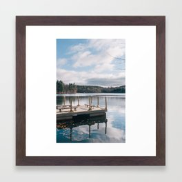 The Dock Framed Art Print
