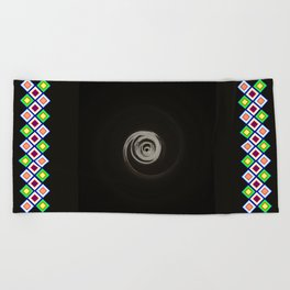 Skizzed deep space   (A7 B0079) Beach Towel