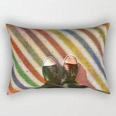 Rainbow Rectangular Pillow