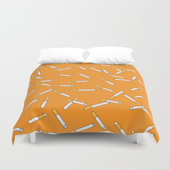 Cigarette Dreams. Duvet Cover