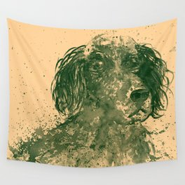 Hunter Dog pale Wall Tapestry