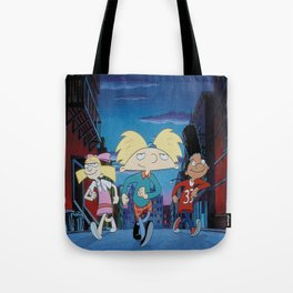 Hey Arnold Tote Bag