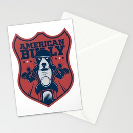 American Bully Stationery Cards