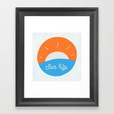 Sun Up Framed Art Print