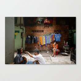 The lonely finger Canvas Print