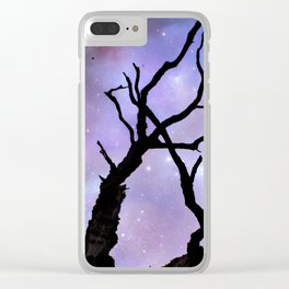 Doom comes from the sky Clear iPhone Case