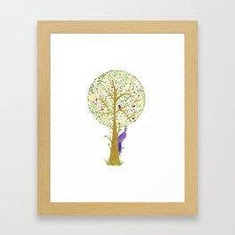 White Oak Crown Framed Art Print