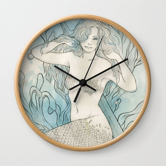 the deep Wall Clock