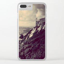 Moorish Castle Clear iPhone Case