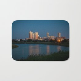 Fort Worth, Texas Bath Mat