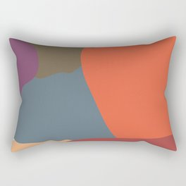 Colorful camouflage V1 Rectangular Pillow