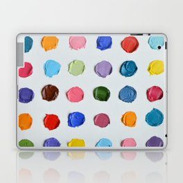 Rainbow Polka Daubs Laptop & iPad Skin