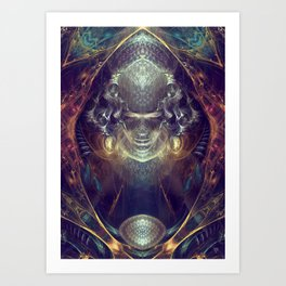 Subconscious New Growth Art Print