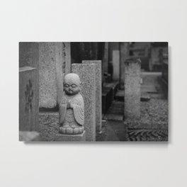 Little stone buddha Metal Print
