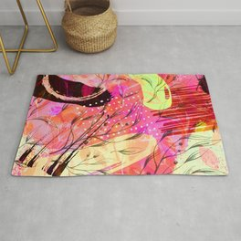 abstract funky cn Rug