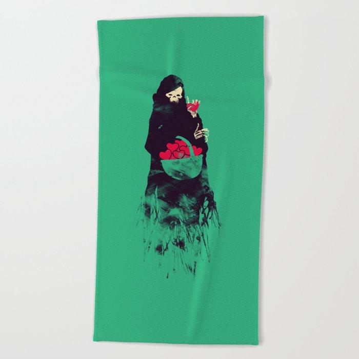 Death Valentine Gift Beach Towel