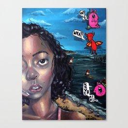 Nevermind Canvas Print