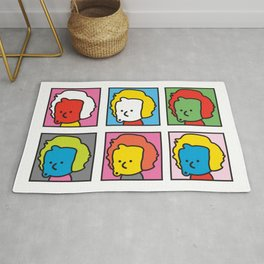 Ooh Zoo – art-series, Warhol Rug
