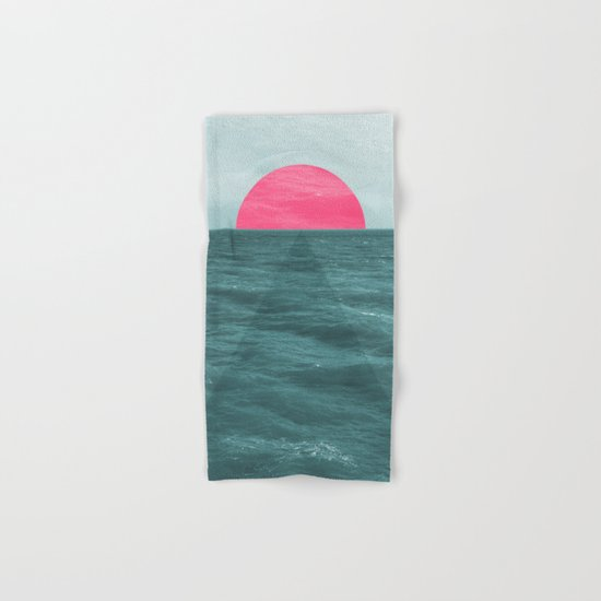 Magenta Sunset Hand & Bath Towel