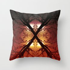 Quad Tree #1 Throw Pillow
