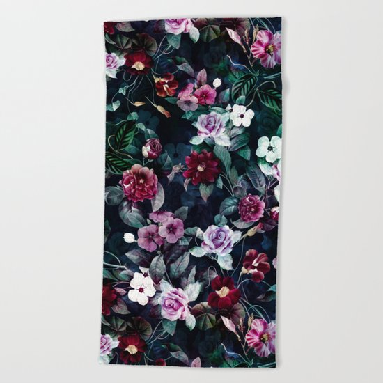 Secret Garden Beach Towel