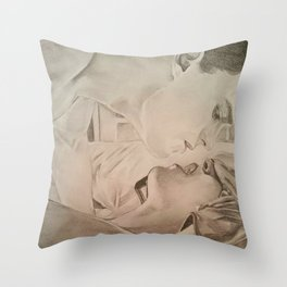 """Ice""- Fifty Shades of Grey Throw Pillow"