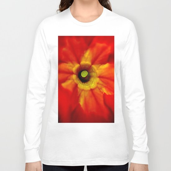 abstract macro Long Sleeve T-shirt