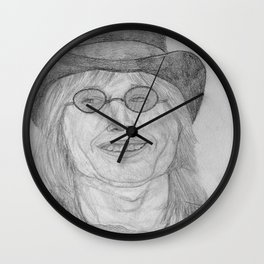 Tom, The Mad Hatter Wall Clock