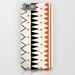 Abstraction_PRIMITIVE_TRIBE_LOVE_PATTERN_POP_ART_09PT iPhone Case