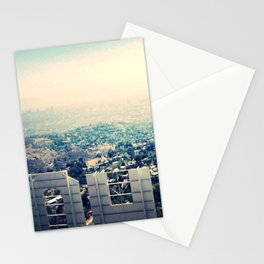 From over the Hollywood Sign Stationery Cards