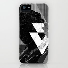 Bacchus Greyscale iPhone Case