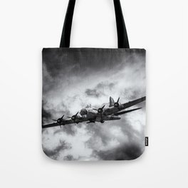 Through The Clouds Tote Bag