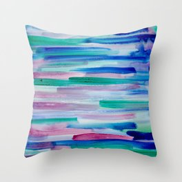Cool Breeze Vibes Throw Pillow