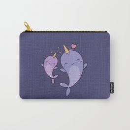 Cute and Kawaii Narwhals Carry-All Pouch