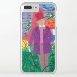 My Favorite Things: Willy Wonka Clear iPhone Case