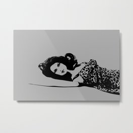 Discarded (Gray) Metal Print
